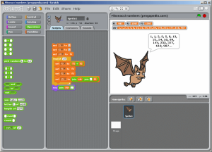 Programming with Scratch from the Lifelong Kindergarten Group.