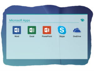 Microsoft Apps on Android